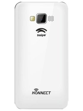 Swipe Konnect 4 Dual Sim Android Kitkat 3G Smartphone - White