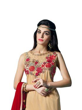 Thankar Semi Stitched  Georgette Embroidery Dress Material Tas274-23001