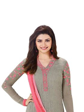 Thankar Semi Stitched  Pure Georgette Embroidery Dress Material Tas299-3218