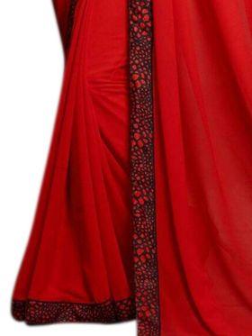 Thankar Embroidered Georgette Saree -Tds134-P-102