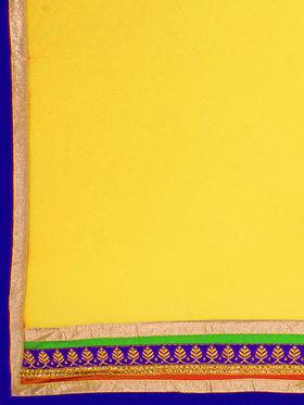 Triveni Trendy Red Semi Stitched Net Lehenga Choli_Ts105