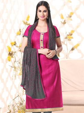 Viva N Diva Bhagalpuri Silk Embellished Unstitched Suit Utsav-5014