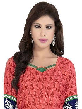 Khushali Fashion Crepe Printed Dress Material With two Top -VRMGEV25023
