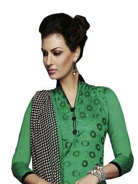 Khushali Fashion Chanderi Embroidered Unstitched Dress Material -VSIDC451002