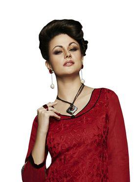 Khushali Fashion Chanderi Embroidered Unstitched Dress Material -VSIDC451007