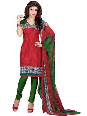 Khushali Fashion Silk Printed Unstitched Dress Material -VSPKV24419