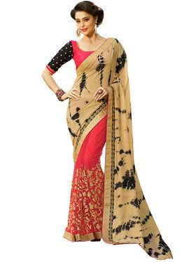 Nanda Silk Mills Designer Fancy Exclusive Saree_Vr-1406