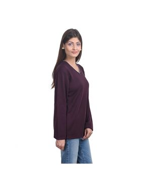 Pack of 3 Eprilla Spun Cotton Plain Full Sleeves Sweaters -eprl47