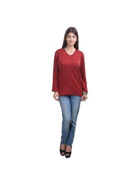 Pack of 5 Eprilla Spun Cotton Plain Full Sleeves Sweaters -eprl63