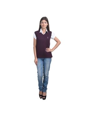 Pack of 3 Eprilla Spun Cotton Plain Sleeveless Sweaters -eprl15