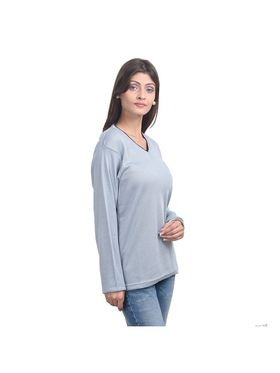 Pack of 3 Eprilla Spun Cotton Plain Full Sleeves Sweaters -eprl53