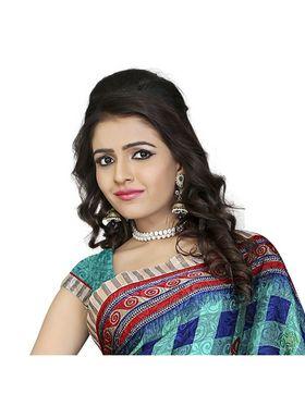 Khushali Fashion Silk Crepe Jacquard Saree(Multi)_YNCHN20546