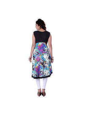 Viva N Diva Cotton Rayon Printed Kurtis -Zeesha-Vnd-2007-A