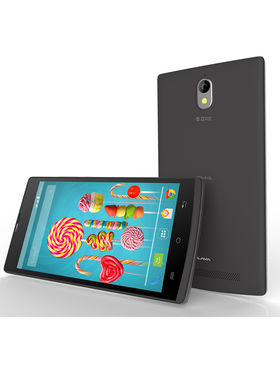 Lava Iris Alfa L Android Lollipop Quad Core Processor 3G Smartphone - Black