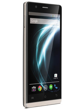 Lava Icon Android Kitkat Quad Core processor with 2GB RAM and 16GB ROM - Black