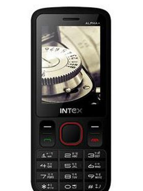 Intex Alpha + 2.4 Inch Dual SIM Mobile Phone