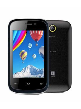 iBall Andy 3.5F Grabit Android Mobile - Balck & Blue