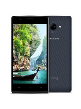 Karbonn Titanium S203, 5-inch Android Kitkat with 3000 mAh Battery - Black