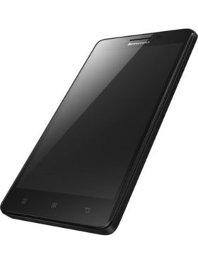 Lenovo A6000 4G LTE Dual SIM with 1 GB RAM and 8 GB ROM - Black