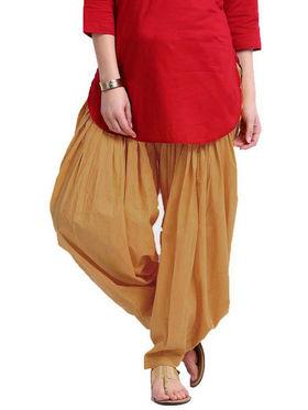 Javuli Plain Pure Cotton Semi Patiala Salwar-ja10