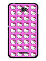 Snooky Designer Print Hard Back Case Cover For Sony Xperia E4 - Pink