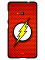 Snooky Designer Print Hard Back Case Cover For Microsoft Lumia 535 - Red