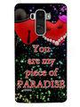 Snooky Digital Print Hard Back Case Cover For LG G4 Stylus - Black
