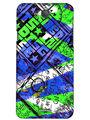 Snooky Digital Print Hard Back Case Cover For InFocus M530 - Blue