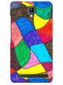 Snooky Digital Print Hard Back Case Cover For Micromax Bolt Q331 - Multicolor