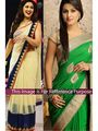 Pack of 2 Arisha Net and Georgette Embroidered Saree - 351 + 1233