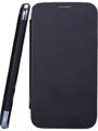 Camphor Flip Cover for Nokia 502 - Black