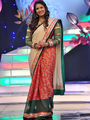 Charming Cream & Red Saree from Aaha Enna Porutham (1612)