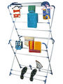 Cipla Plast Oyster Cloth Dryer Stand - White & Blue