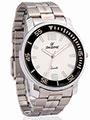 Dezine Wrist Watch for Men - Cream_DZ-GR050-WHT-CH