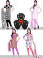 Pack of 4 Stylish Churidar Dress Materials by Variation