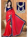 Viva N Diva Georgette Embroidered Saree Sangini-181