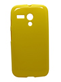 Snooky Back Cover for Motorola Moto G - Yellow