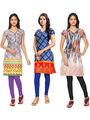Thankar Printed Cotton Stitched Designer Kurti -Tdk141-At13.At16.At1