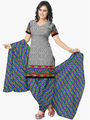 Triveni's Polyester Printed Dress Material -TSSTPMSK10008